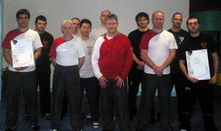 Attendees at day 2 of the December instructor seminar