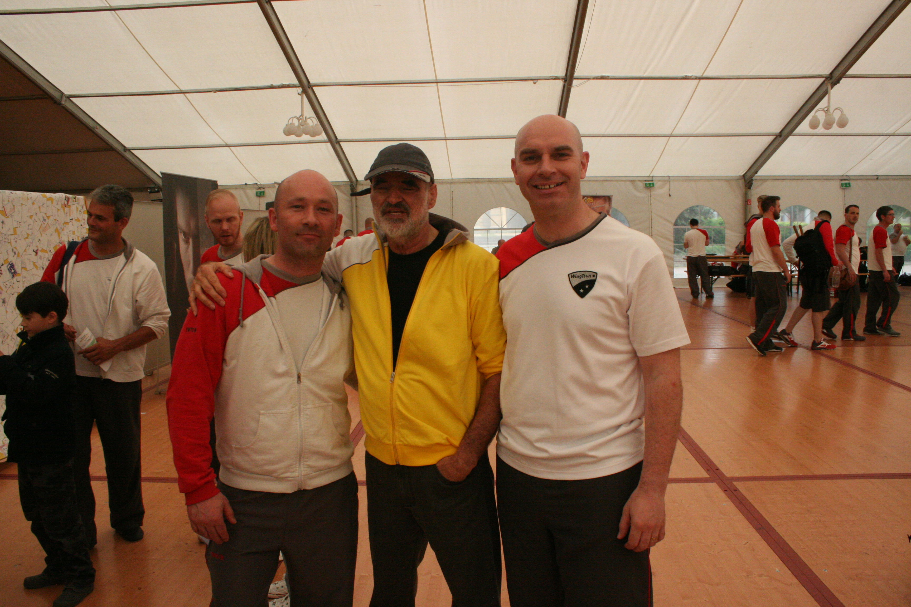Rory and Daragh with Grandmaster Kernspecht