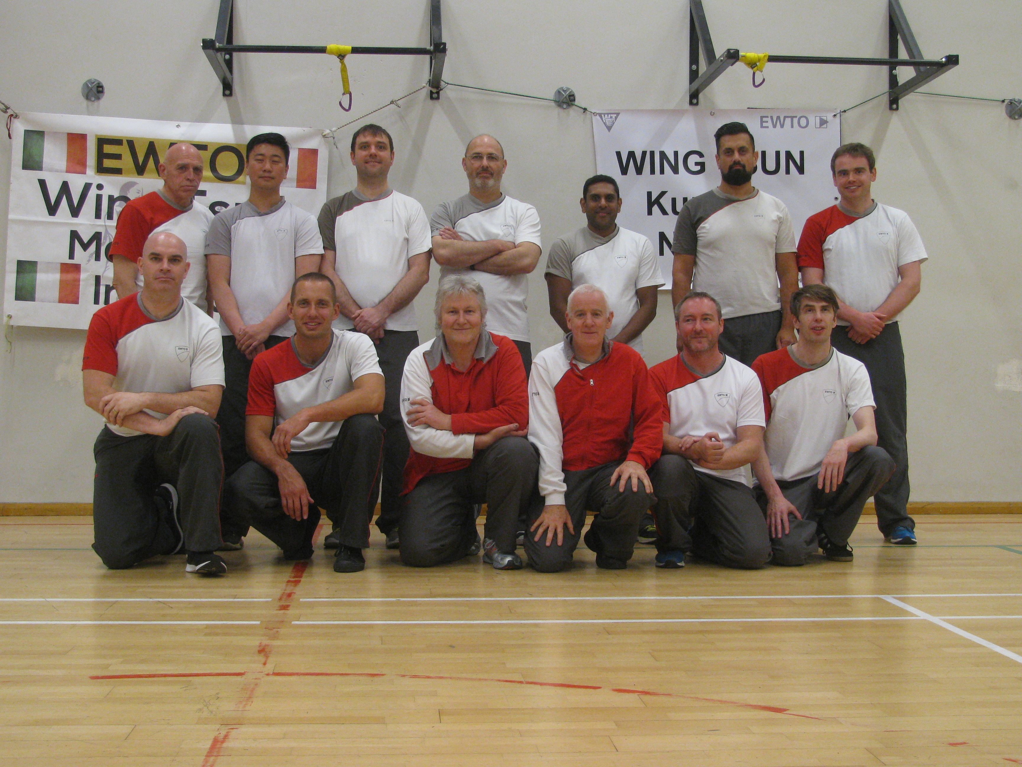 Sifu Tausend and Sifu Canavan with the attendees of the Instructor seminar